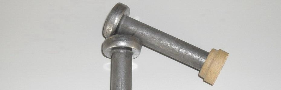 Piolo SD Nelson con ferula ceramica  per saldatrici ad arco lungo