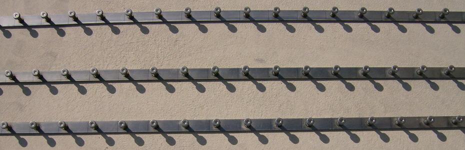 Barre e  profili di metallo con pioli SD Nelson da annegare in cemento