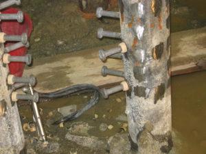 saldatura connettori con testa su palificazioni per fondazioni parcheggio sotterraneo crteurosaldature_com