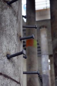 saldatura connettori con testa pilastro fondazione grattacielo di Torino crteurosaldature_com